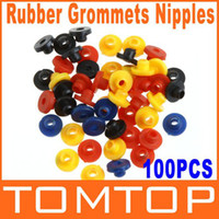 Wholesale 10sets set Tattoo Supplies Colorful Rubber Grommets Nipples for Tattoo Machine Needles H8773