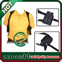 Wholesale New Pistol Pouch Left Hand Right Hand Tactical Black Shoulder Holster