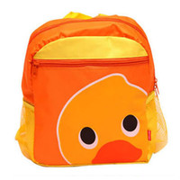 Wholesale Cartoon Cute Book Bag Lunch Box Animal Zoo Handbag for child Boys Girls Kids