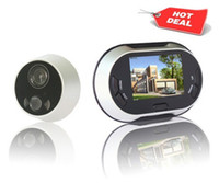 Wholesale Digital Door Peephole inch LCD screen digital peephole viewer with photo shooting function