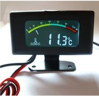 Wholesale Car water temperature gauge car tuning meter color screen car digital water temperature strap MM s NEW