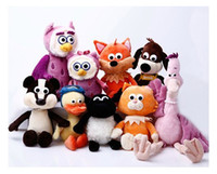 Wholesale Timmy shaun the sheep pelican owl ducklings let kitten puppy hedgehog Badger owlet fox