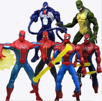 Wholesale Movie The Amazing Spider Man quot Action Figures Toy Set of New Characters Spiderman PVC Figure Doll