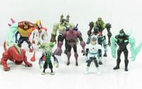 ben alien force - Ben Figures Toys Alien Force Set Action Figure Dolls cm Anime Cartoon PVC Toy