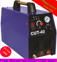 Wholesale Regulator inside technology V V dual voltage Pilot Arc air plasma cutter Cut40 CP50 Gun