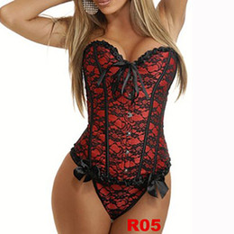 Wholesale NEW Sexy Black Strapless Brocade Steel Corset size s m l xl xxl