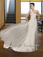 Reference Images One-Shoulder Organza Custom Made!Sexy Cheapest Stylish One Shoulder Grecian Gorgeous Bridal Dres Wedding Dresses