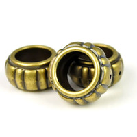 Wholesale 10pcs bag CCB Archaize antique bronze design big rings accessories PT