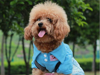 Wholesale 100 Cotton Pet Dog Clothes Apparel Cute T Shirt Size XS S M L