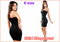 Women Control Slip  50pcs lot Body Shaper Ladies Skirt Shapewear (OPP bag)