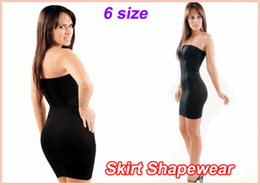 Wholesale 50pcs Body Shaper Ladies Skirt Shapewear OPP bag