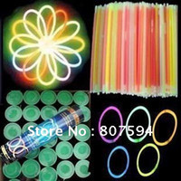 Wholesale 20CM light sticks fluorescent bracelets night glow sticks light sticks LED toys
