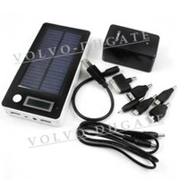 Wholesale NEW mah Solar Power Bank Portable External Battery Charger For Laptop Mobile GA408