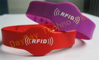 Wholesale RFID Proximity KHz Silicone Wristband Watch Type RFID Wristband