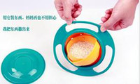 Other gyro bowl - Baby Kid Boy Girl Gyro Feeding Toy Bowl Dishes Spill Proof Universal Rotate Technology Funny Gift pratos