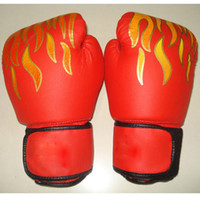 Wholesale boxing gloves sparring glove training MMA punch bag mitts pu Leather
