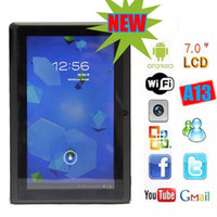 Wholesale 7 inch AllWinner A13 Boxchip GHz Android ICS F1 Tablet PC Camera MB RAM GB Hot cheap