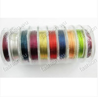 Wholesale In Stock MIC Roll mm Bead Copper Wire String Fit Jewelry