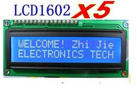 Wholesale x New LCD Display Module x2 blue LCM Character