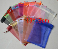 Wholesale Free Ship Mixed cm Organza Jewelry Towel Bags Wedding Party Candy Beads Xmas Gift Bags