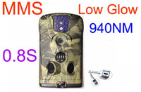 Wholesale Ltl acorn MM MG MP P Video nm Low Glow HD MMS scouting trail game camera GSM GPRS IR hunting camera