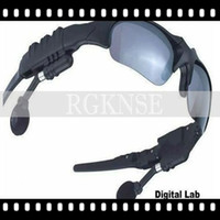 Wholesale waterproof sunglasses with bluetooth camera sunglasses