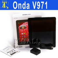 Wholesale Onda V971 Dual Core quot Android IPS Capacitive Screen GHz GB Ram GB Dual Camera Tablet