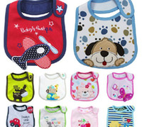 Cotton best wipes - Best price waterproof infant bibs saliva towel babies Wipes Burp Cloth Scarf mixed style