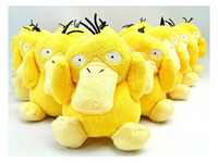 "Yellow   wholesale psyduck yellow toy Pikachu soft plush doll stuffed animal 14cm 5.5""Eevee"