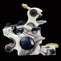 art cast - Solong Tattoo Body Art Top Handmade Cast Iron Tattoo Machine Gun Wraps Shader Liner
