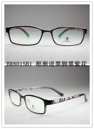 Wholesale 2012 men and women optical frames TR90 material eyewear mixed colors lotBR8010