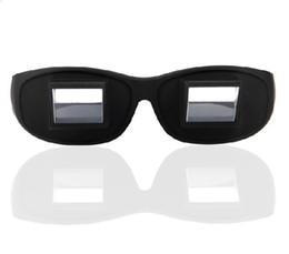 Посмотрю телевизор, лежа оптические очки очки зеркало горизонтальный ленивым лежа на пожилого пациента