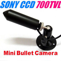 Wholesale SONY Effio TVL Hidden Pinhole CCTV Mini Camera with bracket
