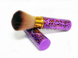 Wholesale Professional Purple makeup tools brush for make up kabuki brushes high quality