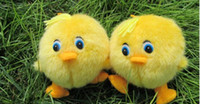 Wholesale Plush Toys Lovely Yellow duck plush toys will call little duck doll