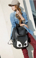 Wholesale Celebrity Simple Fox Fashion Casual Women Bags Girls Schoolbag Handbag C