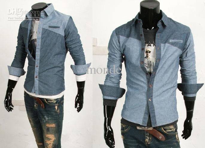 Men S Fashion Casual Shirts