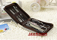 Wholesale Nail nail art set nail clipper suit nail clippers nail scissors suit nail repair equipment