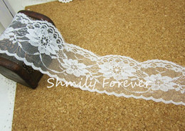 Wholesale 50Meters Lace Hem Triming For Wedding Candy Boxes Gift favor Box decorations