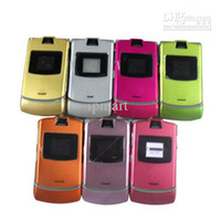 Wholesale Refurbished RAZR GSM CELL PHONE Series with Mix colors hot