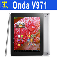 Wholesale 9 quot Android Onda V971 Dual Core IPS Capacitive Dual Camera1 GHz GB USB G Dongle Network