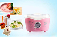 automatic milking machine - Automatic Yogurt Maker Machine Yogurt Sour Milk Household Maker pink flower V7067