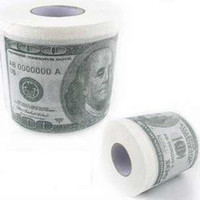 Wholesale US Money Bank Note Tissue Toilet Paper Roll American Dollar USA V7071