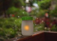 Wholesale New Arrive Solar Light Sun ELF Jar Lamp Sound Sensor LED Toy Christmas Gift