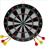 Wholesale Large double flocking upset aggravate dart plate with a dart