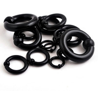 Wholesale Silicone Captives Bead Rings Nostril Nose Ring Body Piercing Jewelry Free Shippi