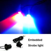 Wholesale Car Strobe Lights LED Flash Warning Police Firemen Auto Fog Light RH strobe lights for cars