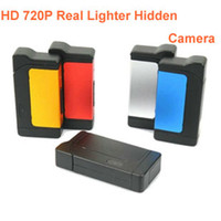 Cheap Motion Detection 720P Spy Lighter Camera Cam DVR Real Lighter Mini DV Hidden Camera Video Recorder