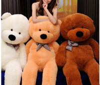 100cm Teddy Bear Plush Toy White Light Brown And Dark Brown ...