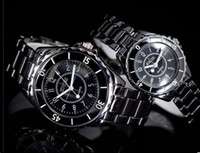 Wholesale new design star temptation black couple watch men and ladies watches pair